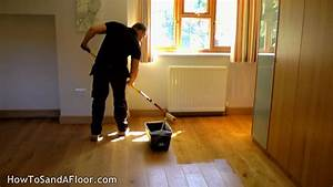 how to refinish a wood floor without sanding youtube With how to refinish parquet floors without sanding