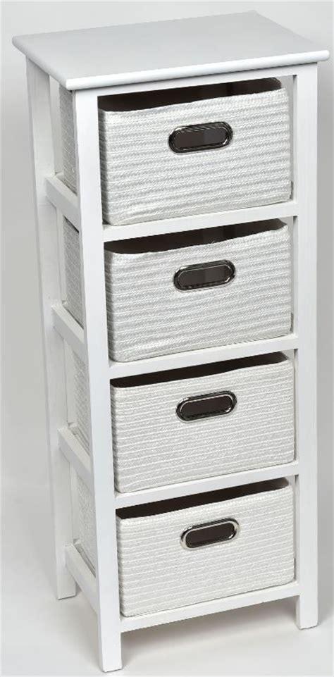 meuble 224 panier key west blanc meuble salle de bain pas cher ideko commodes buffets