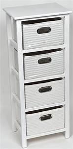 Meuble Sdb Pas Cher : meuble panier key west blanc meuble salle de bain pas ~ Edinachiropracticcenter.com Idées de Décoration