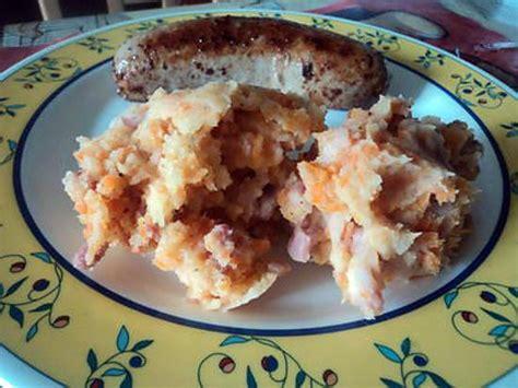 recette de stoemp ou pot 233 e au carotte lardon