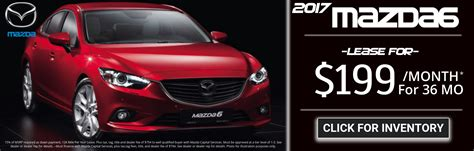 Mazda 6 Lease Specials by Mazda Panama City New Used Car Dealership