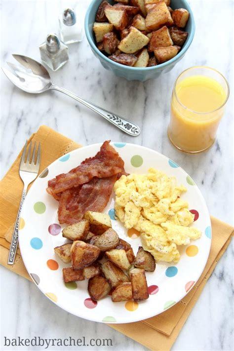 how to make breakfast perfect breakfast potatoes baked by rachel