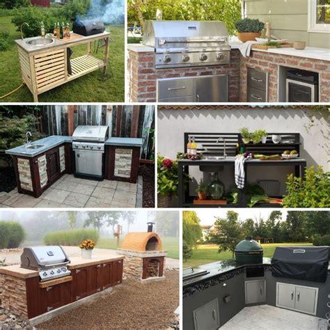 diy outdoor kitchen ideas   build