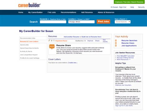 Careerbuilder Resume Search by How To Search For Rn Careerbuilder