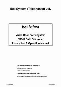 Bell Installation Instructions
