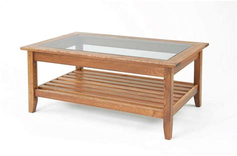Glass Top Coffee Tables With Wood Base  View Here