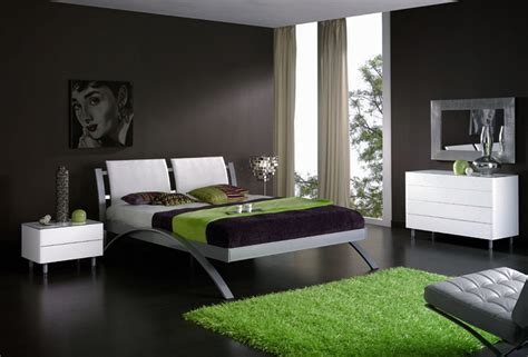 Bedroom Design With Nice Color Combination  Home Combo