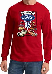 Ford Mustang T-shirt V8 Collection Long Sleeve   eBay