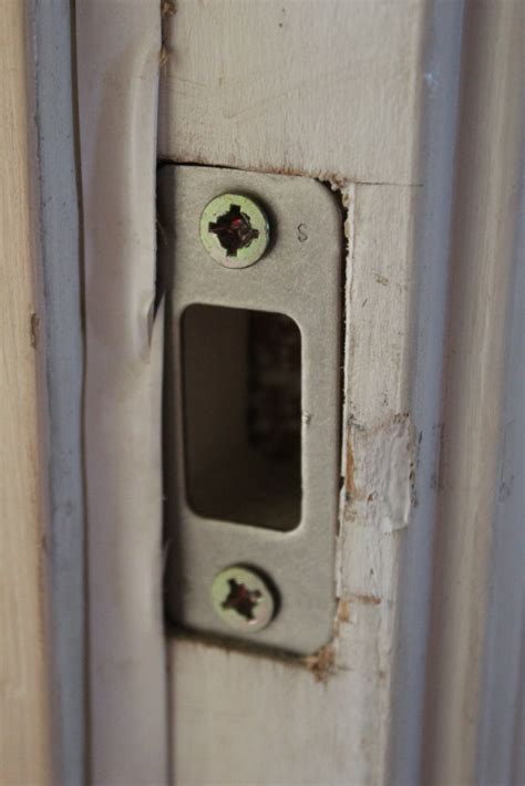 door strike plate air leaks can really affect your home energy bills