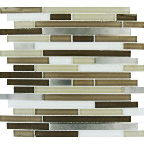 home depot glass tile ms international escorial blend interlocking 12 in x 12