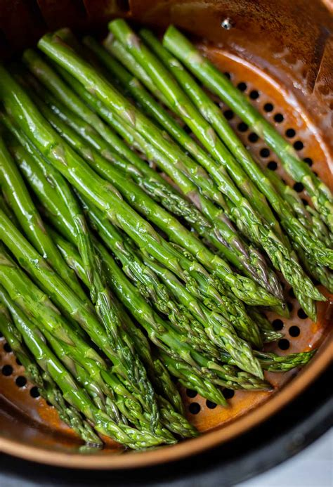 air fryer asparagus recipe cook recipes roasted airfryer side healthy fried spray