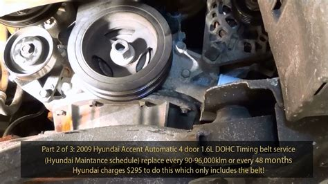 Hyundai Accent Gls Dohc Timing Belt Service Part