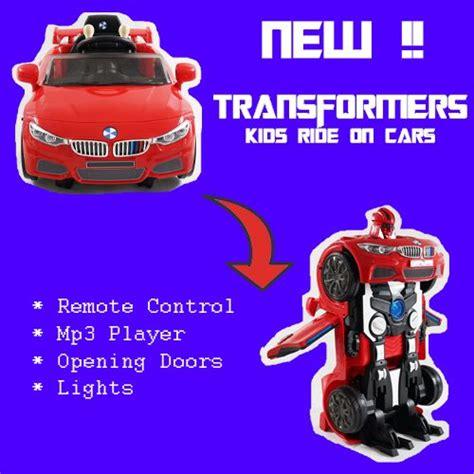 New Transformers Bmw Kids Electric Car 12v 2017