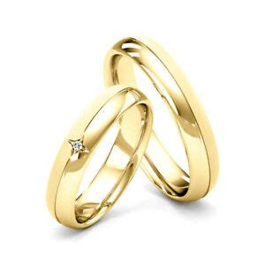 matching couple wedding rings his and hers diamond set