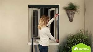 Faire Une Moustiquaire : comment poser une moustiquaire enroulable youtube ~ Premium-room.com Idées de Décoration