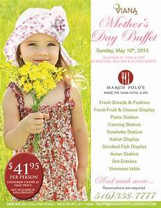 Celebrate Mother's Day at Marco Polo's Restaurant located ...