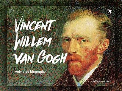 Van Gogh Vincent Willem Biography Animated Dribbble