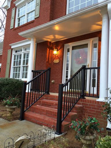 redi rail front porch  columns stair solution