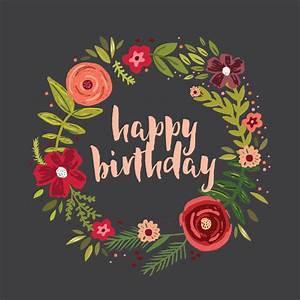 Free Printable Housewarming Invitations Cards Floral Circle Birthday Card Free Greetings Island