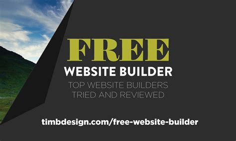 the best free website builder top website builders tried