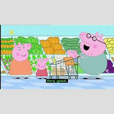 Peppa Pig (series 1)  Shopping (with Subtitles) Youtube
