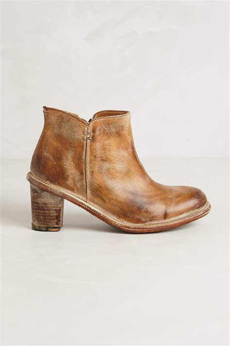 Bed Stu by Bed Stu Sonic Booties In Brown Sand Lyst