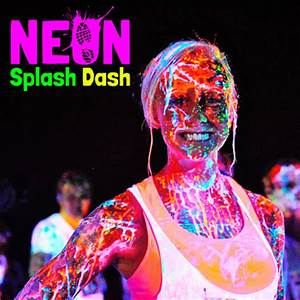 Neon Splash and Dash Race Info and Giveaway • Half Crazy Mama