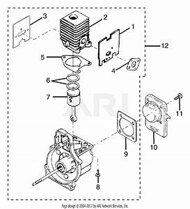 Homelite Ry70105 Straight Shaft Trimmer Parts Diagram For