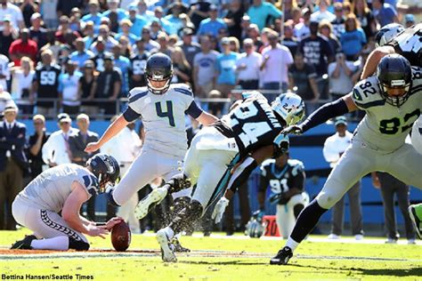 nfl playoffs panthers  seahawks special teams