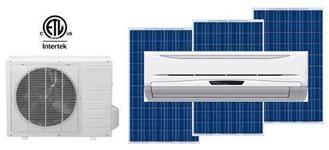solar powered heat l solar air conditioner lg 1 cool my garage