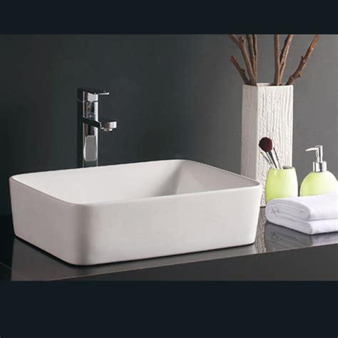 bathroom counter ceramic table top wash basin modern hand