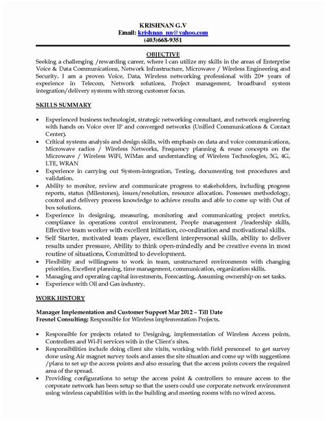 project management resume sle best of software project