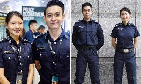 Which Uniform For Singapore Police Force