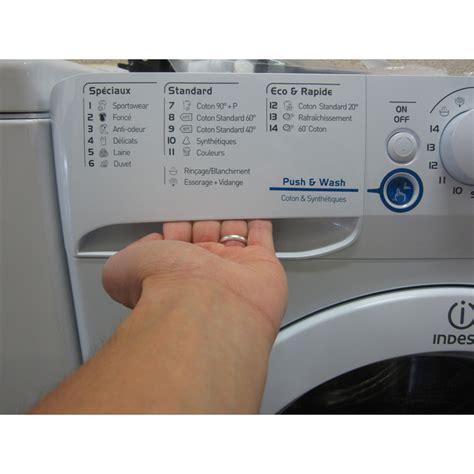test indesit xwa61252w fr innex push wash lave linge ufc que choisir