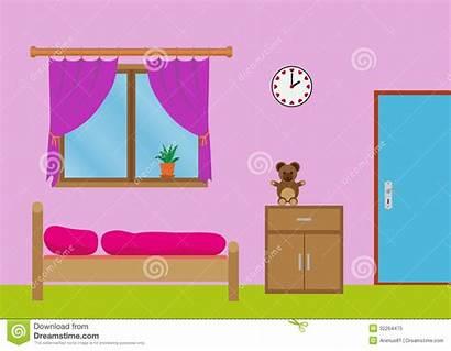 Bedroom Clipart Window Sleeping Bed Clip Charming