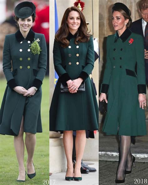 The Duchess Brought Back One Her Patrick Day Coats