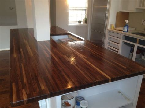 american walnut countertop