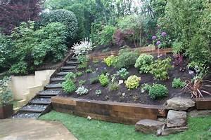 Amenagement Jardin Pente. am nagement jardin en pente astuces pour ...