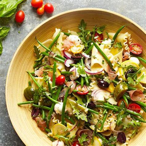 pasta salad dishes summer potluck recipes
