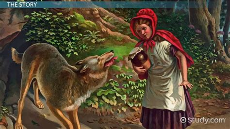 red riding hood characters video lesson