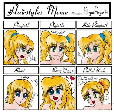 Meme Hairstyles - meme different hairstyles by argieargie on deviantart