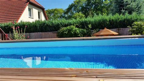 frame pool verkleiden frame pool mit holz verkleiden wohn design