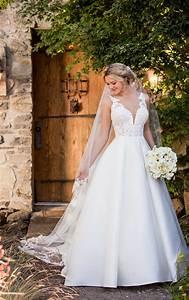 Formal ballgown wedding dress essense of australia for Dress for formal wedding