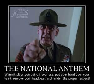 America National Anthem Meme