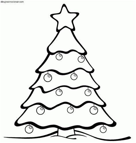 dibujos de un arbol de navidad dibujos de arboles de navidad para colorear