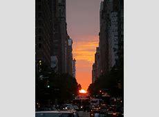 Manhattanhenge Charlie Stein's Photoblog