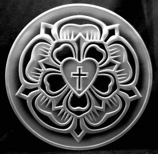 martin luthers seal lotus tattoo luther rose martin