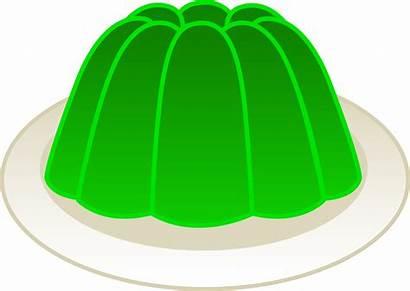 Gelatin Lime Clipart Mold Clip Jello Jelly