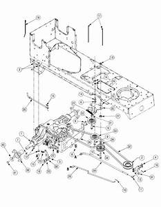 Cub Cadet Ltx 1040 Transmission Drive Belt Diagram
