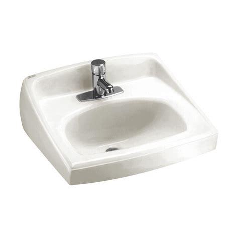 american standard wall mount sink american standard lucerne wall mount bathroom sink in